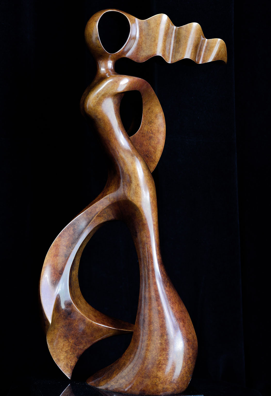 Grace - by Andrew Thomas, from the Female series. Bronze limited edition of seven