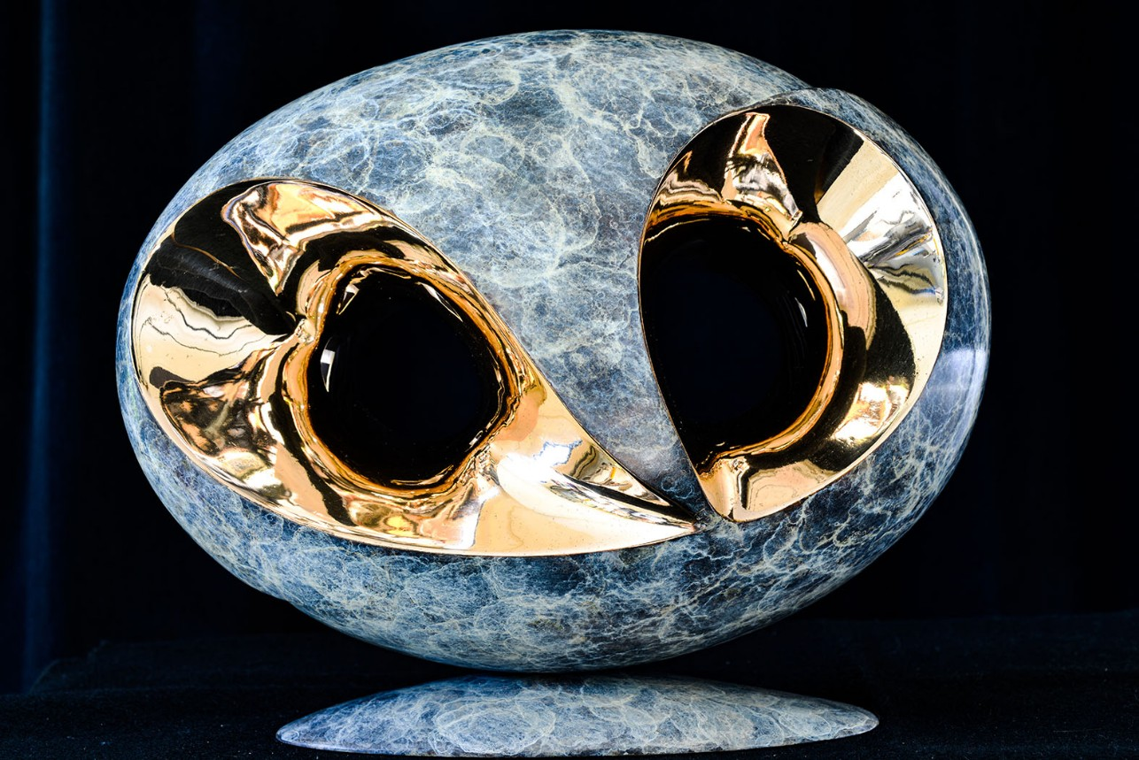 Mind Body Soul by Andrew Thomas from the Surface to Depth series. Bronze limited edition of nine
