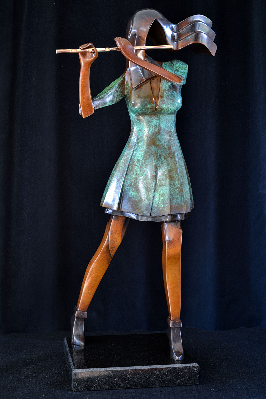 Rehana by Andrew Thomas, from the Female series. Bronze limited edition of seven